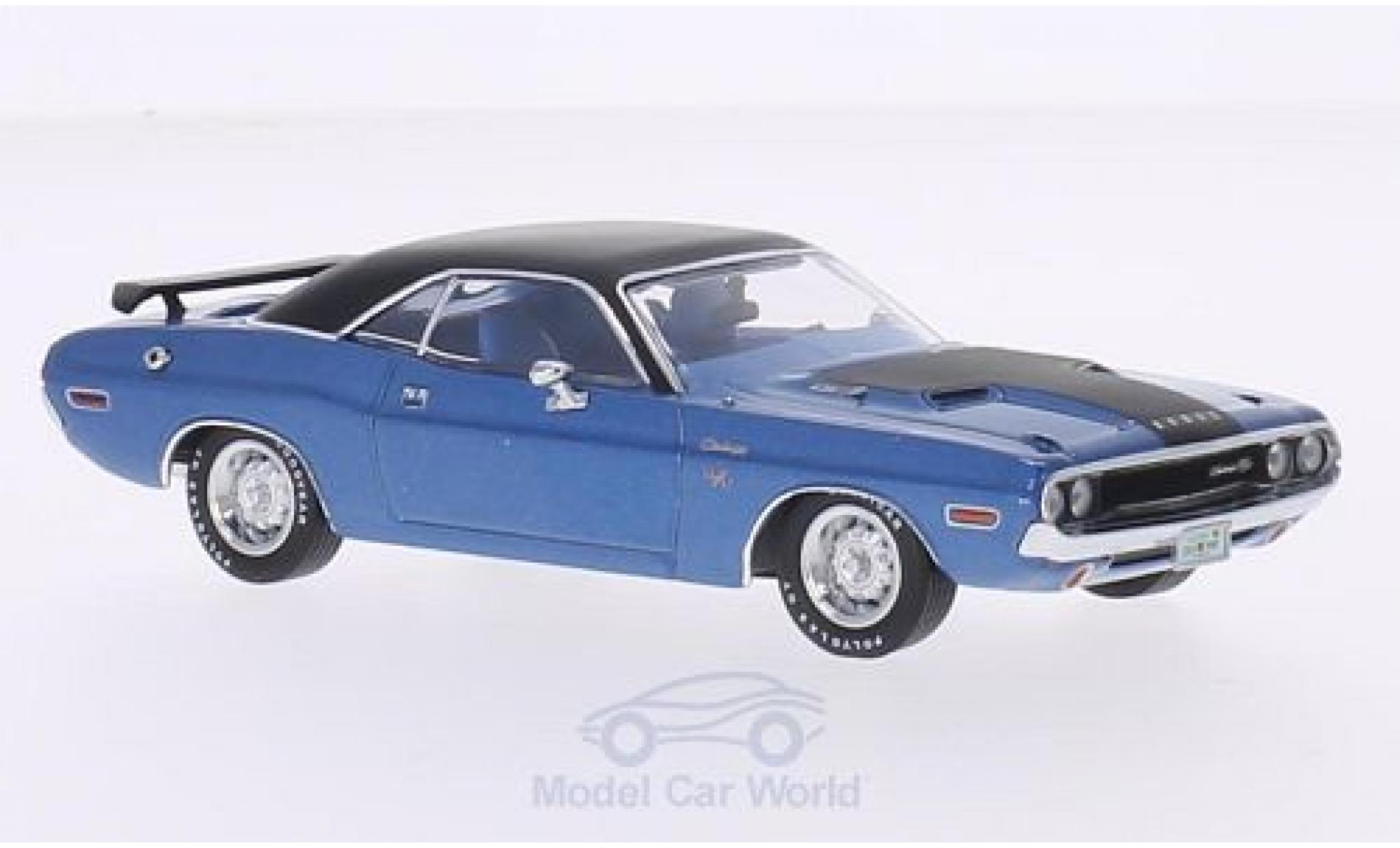 Dodge Challenger 1970 1/43 Premium X R/T metallic-bleue/matt-noire 1970