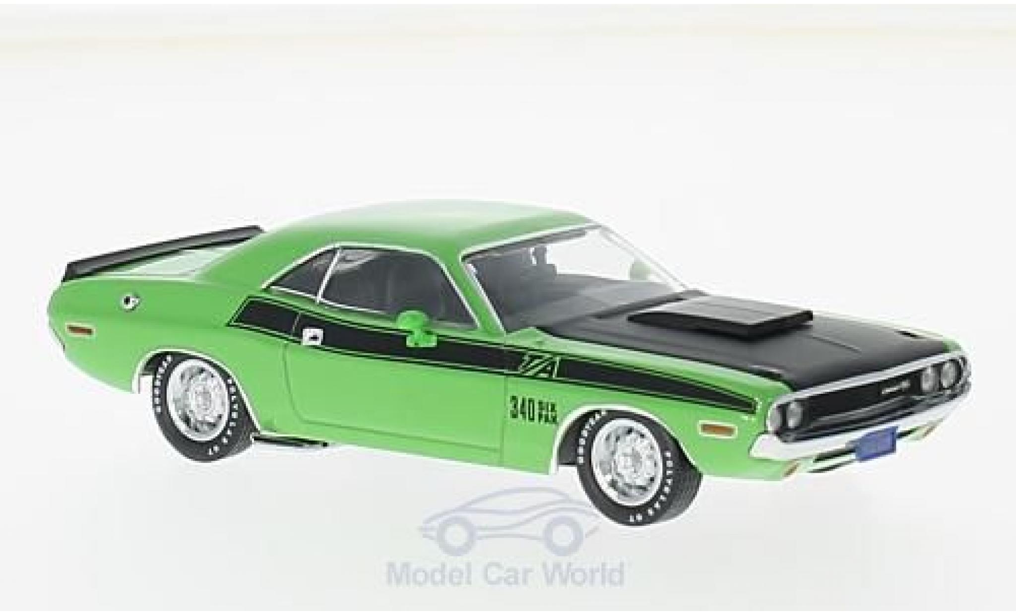 Dodge Challenger 1970 1/43 Premium X T/A verte/noire