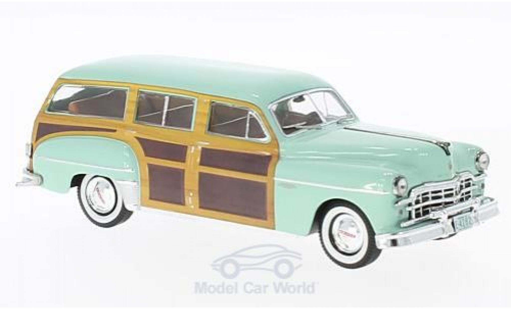 Dodge Coronet 1/43 Premium X Woody Wagon hellgrün/Holzoptik 1949