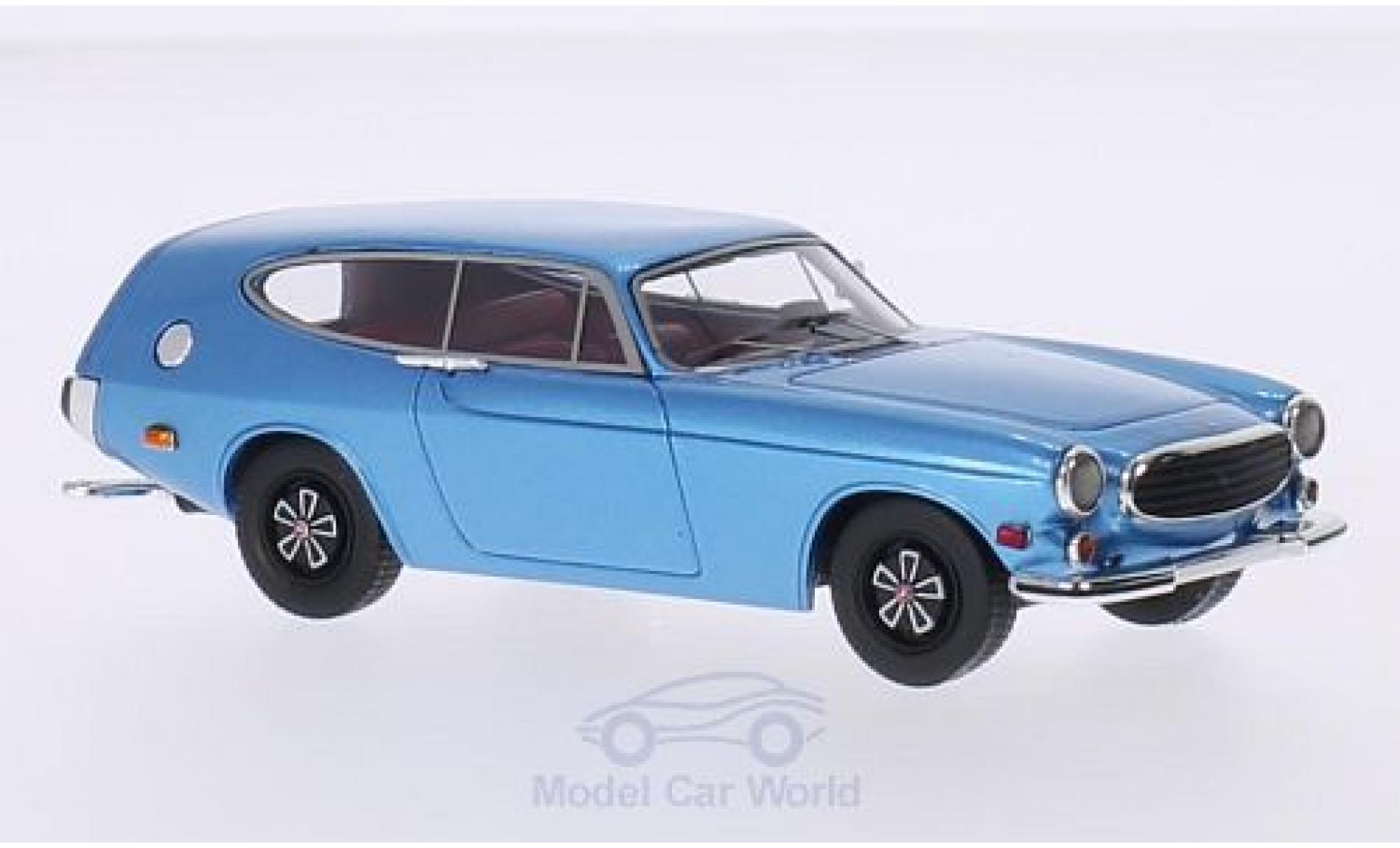 Volvo P1800 1/43 Premium X ES Rocket metallic-bleue 1968
