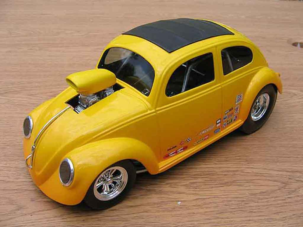 Volkswagen Kafer Drag Run 1/18 Burago pro street cox tuning miniature