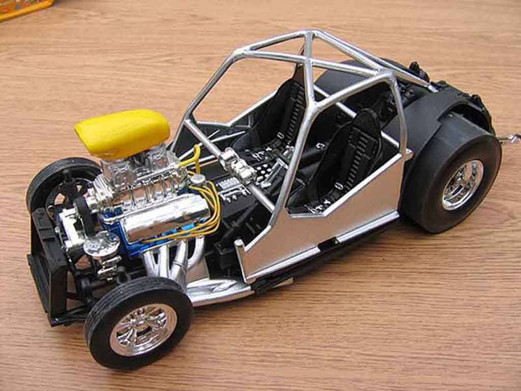 Volkswagen Kafer Drag Run 1/18 Burago pro street cox