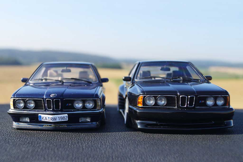 Bmw 635 CSI 1/18 Autoart kit carrosserie Kago