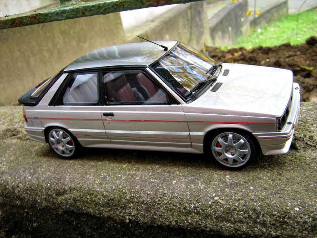 renault 11 turbo miniature zender 1985 jantes speedline ottomobile 1 18 voiture. Black Bedroom Furniture Sets. Home Design Ideas