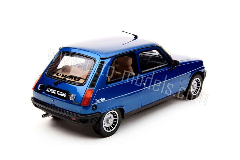 renault 5 alpine turbo 1983 ottomobile modellauto 1 18 kaufen verkauf modellauto online. Black Bedroom Furniture Sets. Home Design Ideas