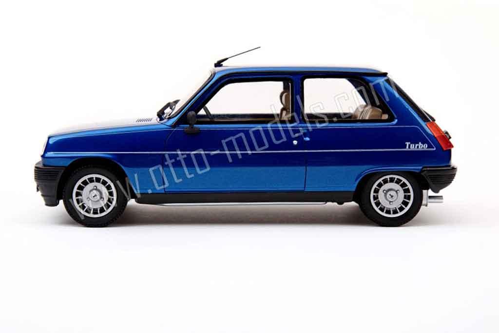 renault 5 alpine miniature turbo 1983 ottomobile 1 18 voiture. Black Bedroom Furniture Sets. Home Design Ideas