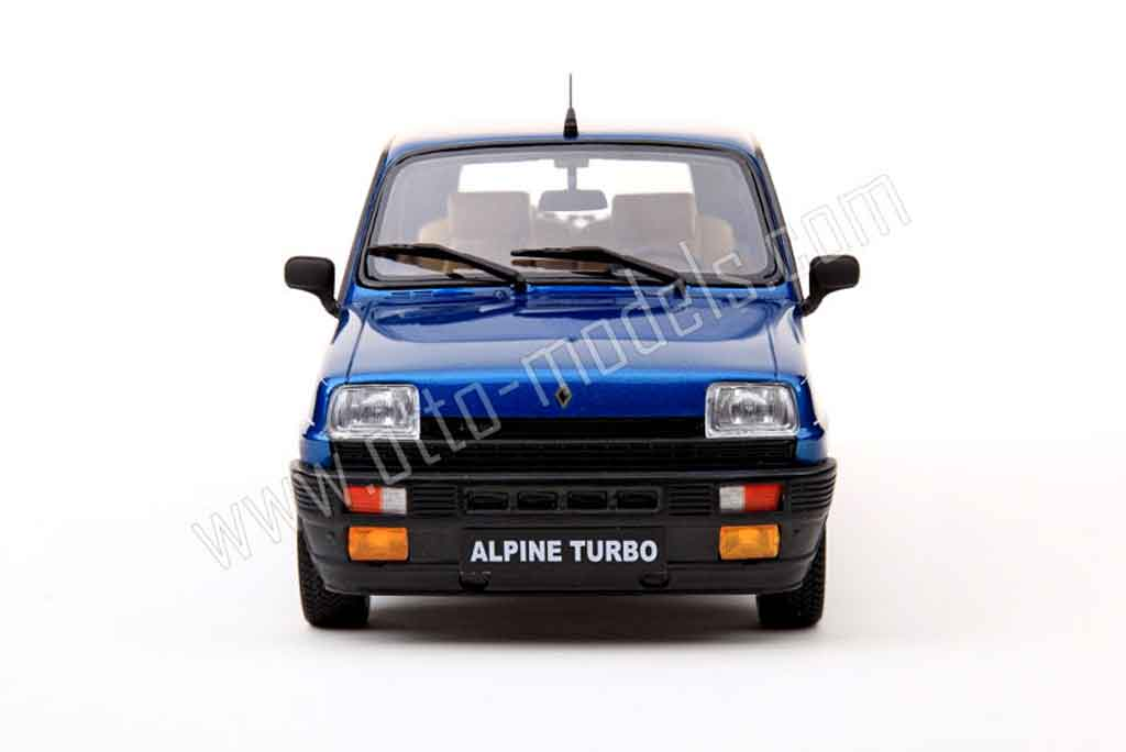 renault 5 alpine turbo 1983 ottomobile modellauto 1 18. Black Bedroom Furniture Sets. Home Design Ideas