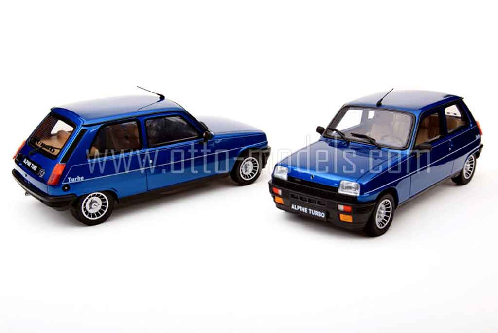 renault 5 alpine miniature turbo 1983 ottomobile 1 18 voiture. Black Bedroom Furniture Sets. Home Design Ideas