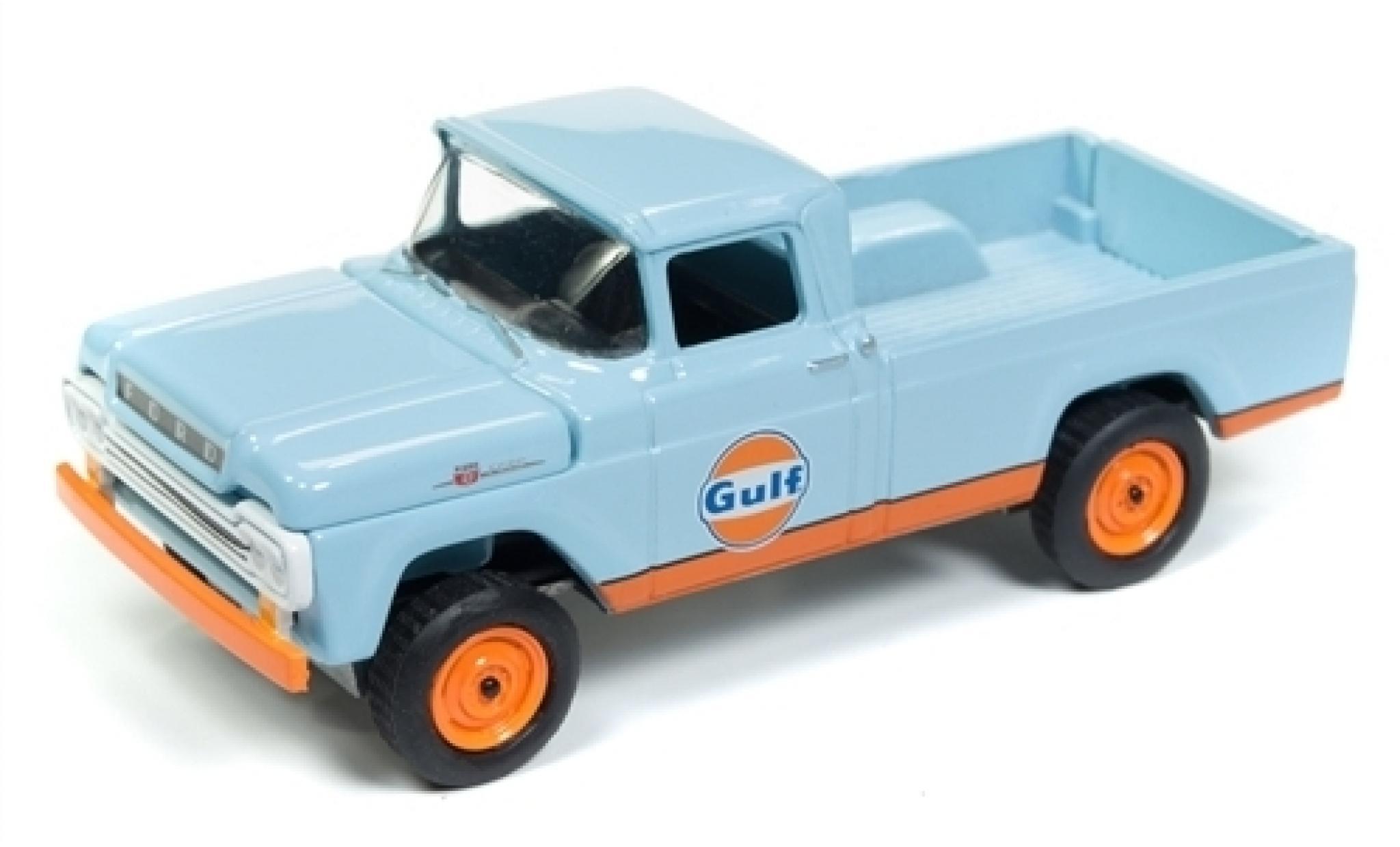 Ford F-250 1/64 Racing Champions Mint Gulf 1959
