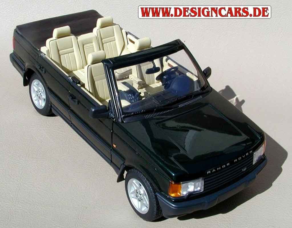 range rover hse v8 4 2 l convertible autoart diecast model. Black Bedroom Furniture Sets. Home Design Ideas
