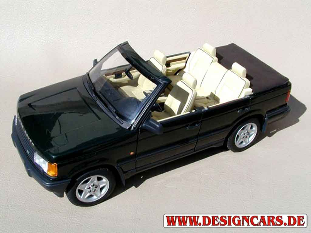 Range Rover HSE 1/18 Autoart v8 4,2 l cabriolet