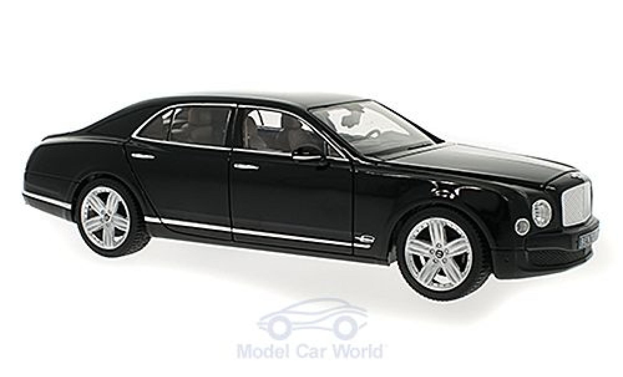 Bentley Mulsanne 1/18 Rastar nero