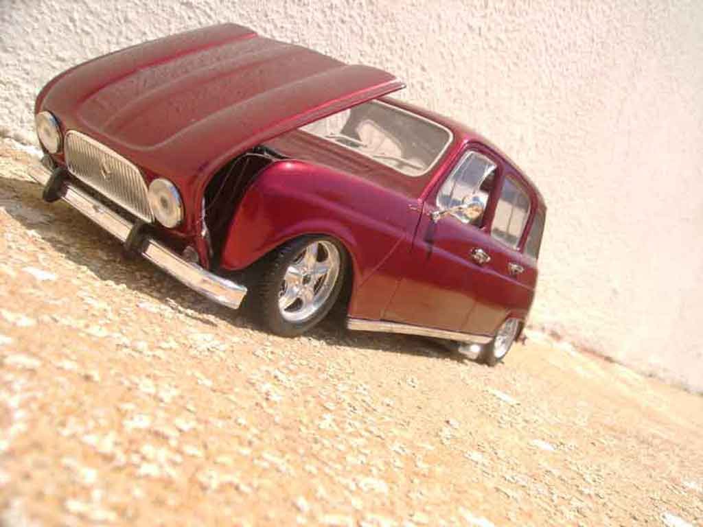 Renault 4 R3 Miniature 1964 Solido 1 18 Voiture