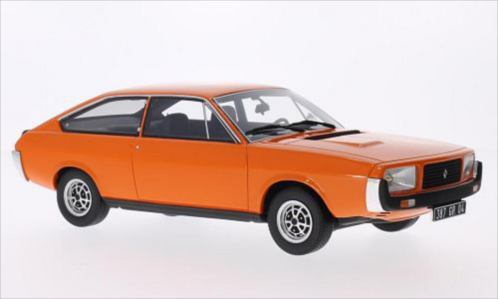Renault 15 GTL 1/18 Ottomobile orange 1976 miniature