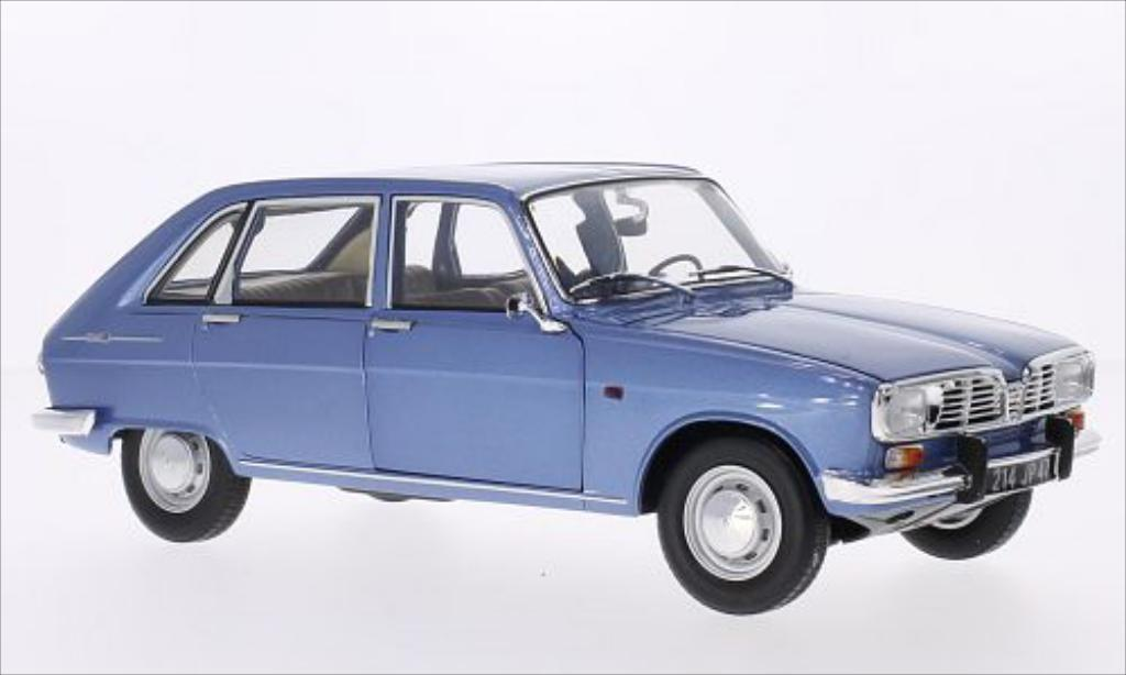 renault 16 miniature metallic bleu 1968 norev 1 18 voiture. Black Bedroom Furniture Sets. Home Design Ideas
