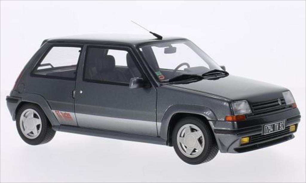 Renault 5 1/18 Ottomobile GT Turbo grise 1987 miniature