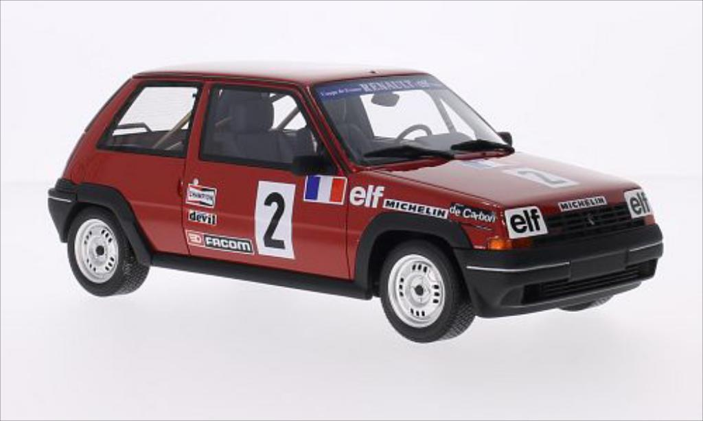 Renault 5 GT Turbo 1/18 Ottomobile No.2 1985 miniature