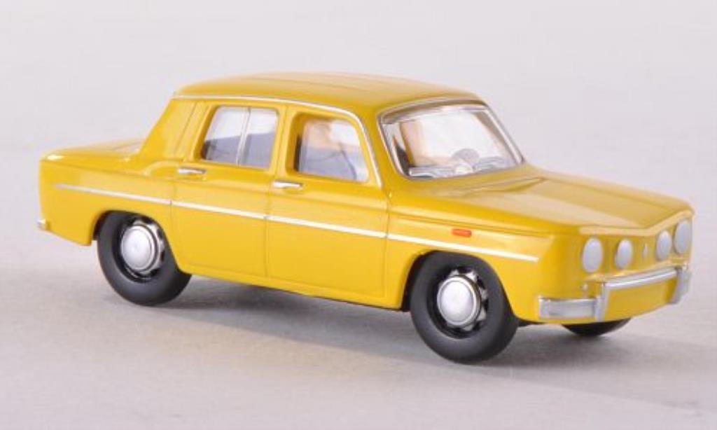 Renault 8 Gordini 1/87 Herpa zinkamarillo miniatura