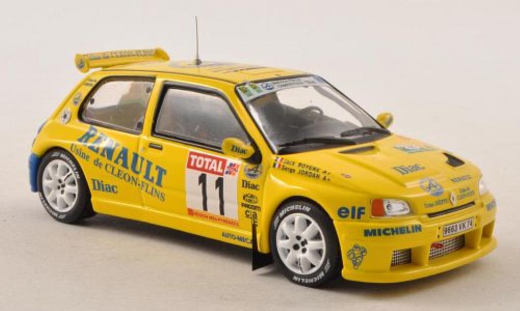 Renault Clio Maxi 1/43 IXO No.11 Alpine Rally du Rouergue 1995 /J.Boyere miniature