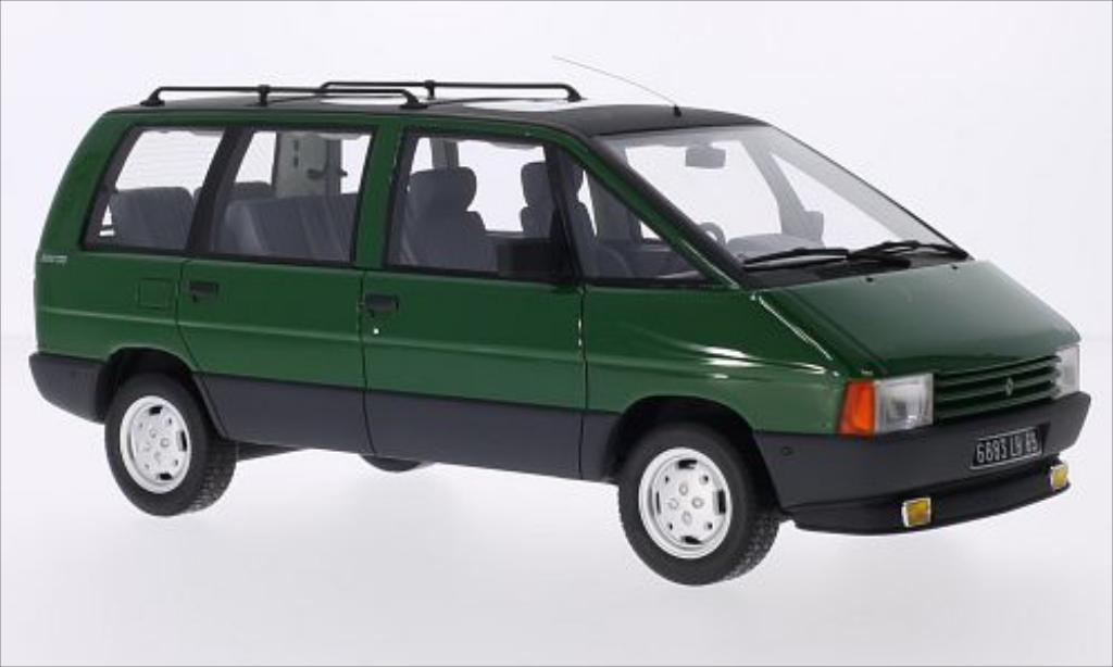 renault espace miniature 2000 tse verte 1984 ottomobile 1 18 voiture. Black Bedroom Furniture Sets. Home Design Ideas