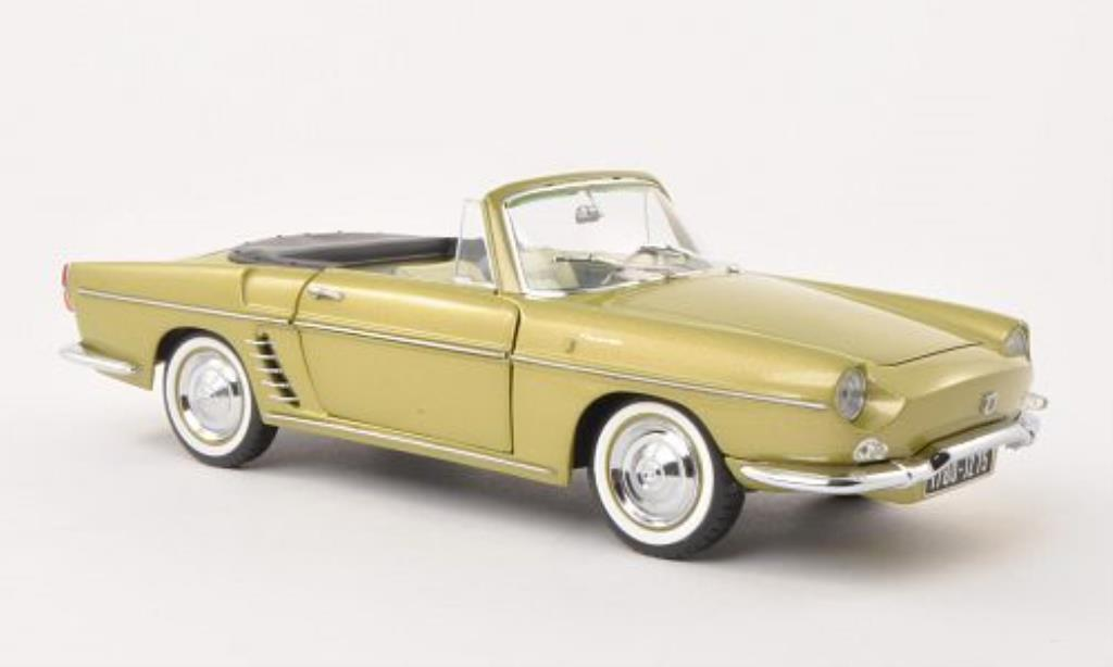 Renault Floride 1/18 Norev yellow-grun 1959 diecast model cars
