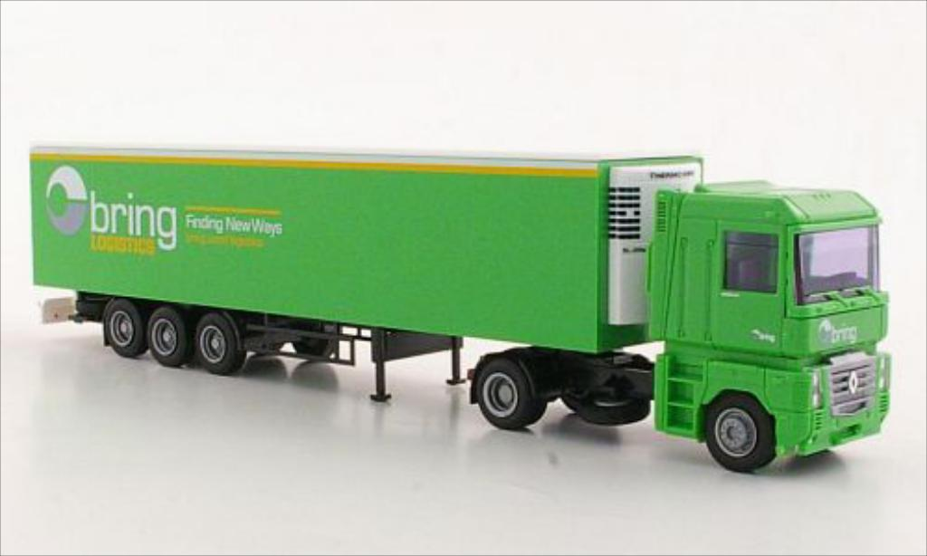 Renault Magnum 1/87 AWM bring Logistics miniature