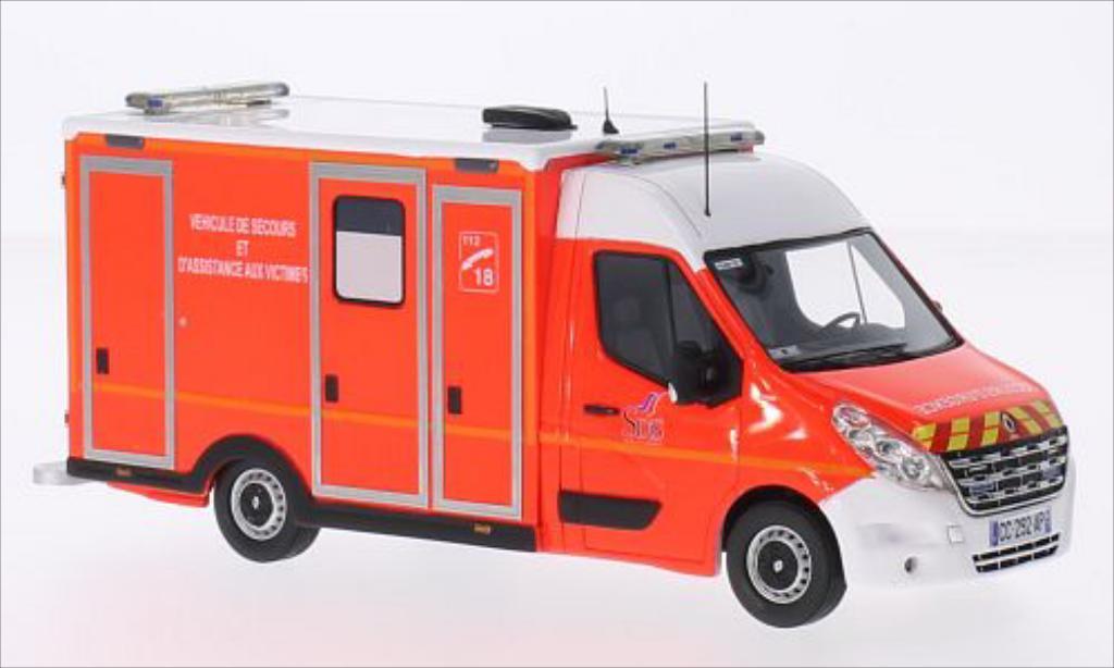 Renault Master 1/43 Alerte VSAV 77 miniature