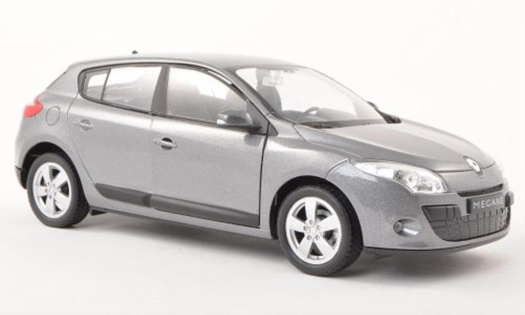 Renault Megane 1/24 Welly grise 2009 miniature