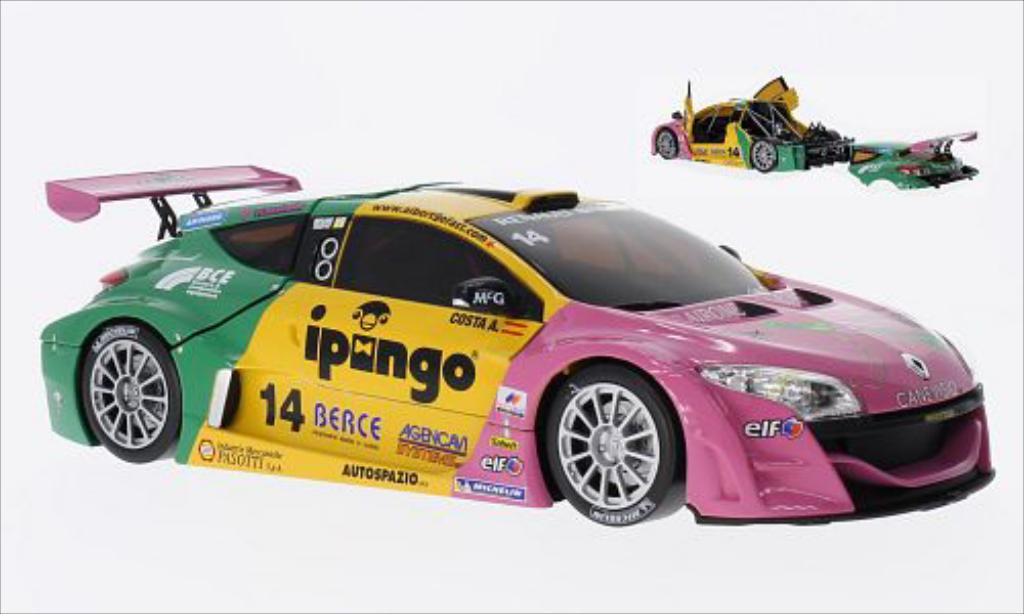 Renault Megane Trophy 1/18 Norev No.14 Team Oregon 2012 miniature