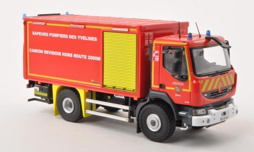 Renault Midlum 1/43 Eligor 270 DATT 78 Sapeurs Pompiers des Yvelines Feuerwehr (F) miniature