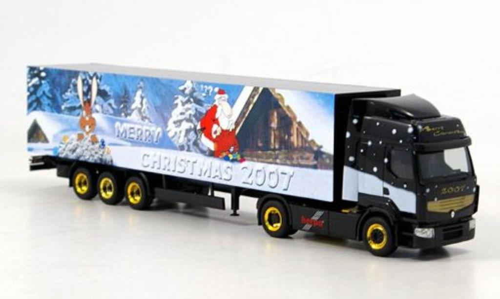 Renault Premium 1/87 Herpa Merry Christmas - Weihnachten 2007 Koffer-SZ miniature