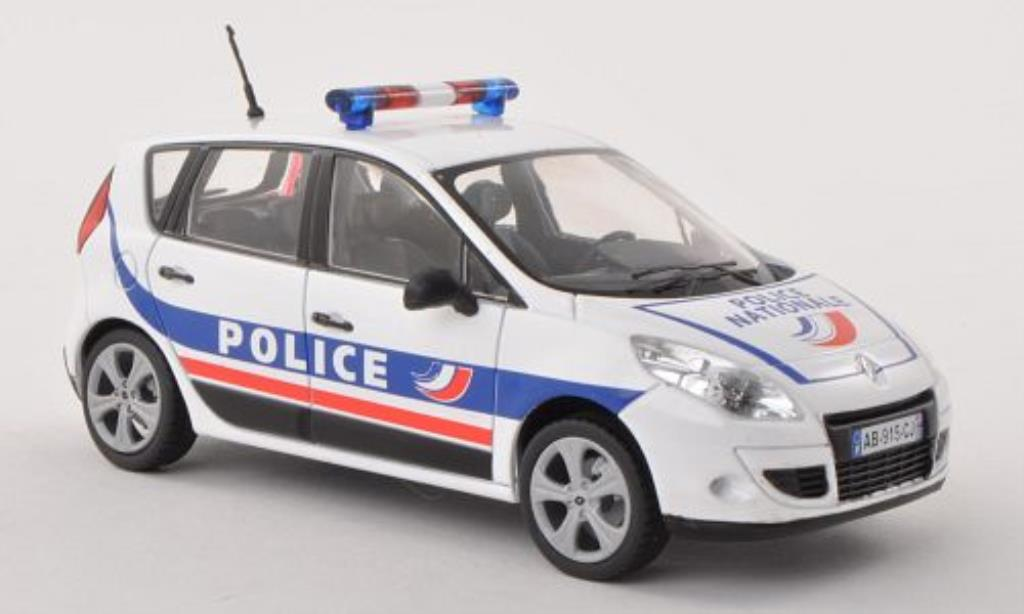 Renault Scenic 1/43 Solido Police Nationale Polizei (F) 2009 miniature