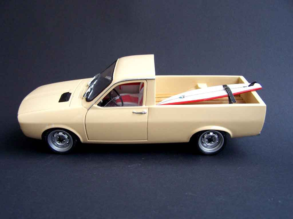 Renault 12 Gordini Miniature Dacia Pick Up Solido 1 18