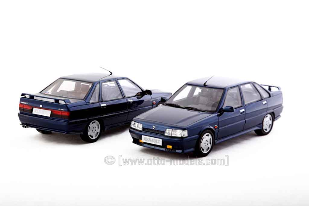 Renault 21 Turbo 1/18 Ottomobile 2l phase 2 1993 bleu sport prototype