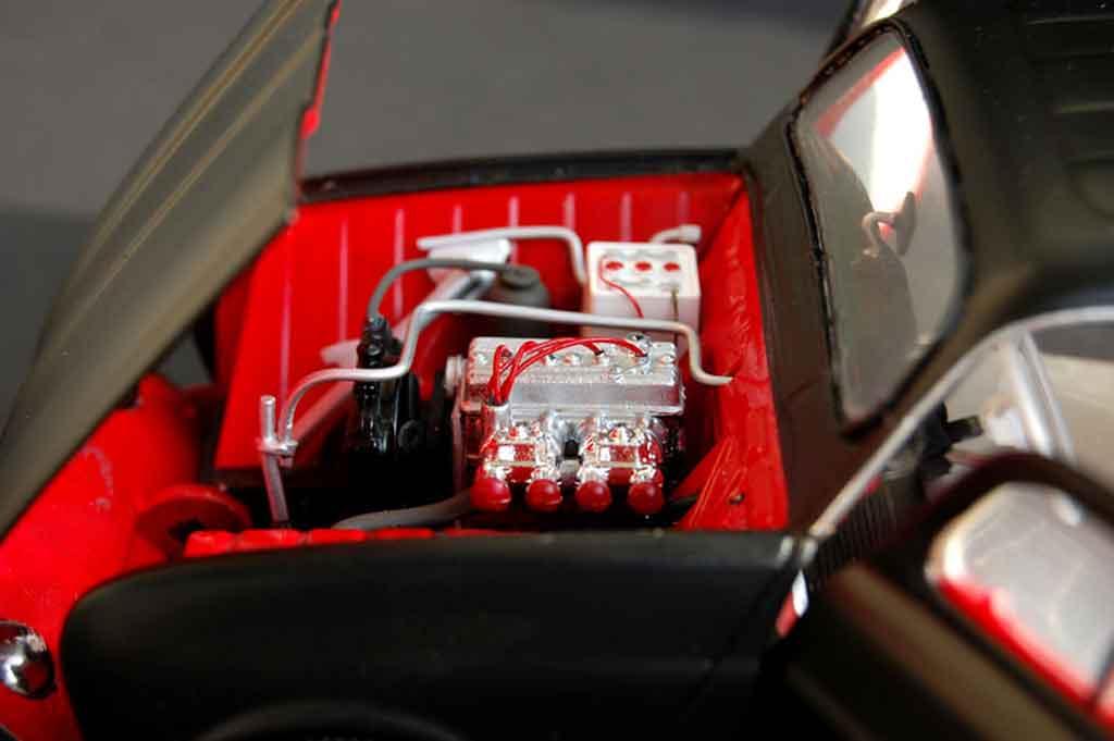 Renault 4L f4 fourgonette tuning Norev. Renault 4L f4 fourgonette miniature auto miniature 1/18