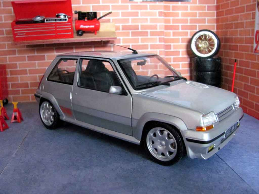 renault 5 gt turbo phase 2 gris jantes speedline norev coches miniaturas 1 18 comprar venta. Black Bedroom Furniture Sets. Home Design Ideas