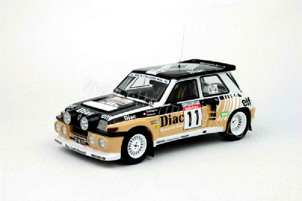 Miniature Renault 5 Turbo maxi diac Ottomobile. Renault 5 Turbo maxi diac miniature 1/18