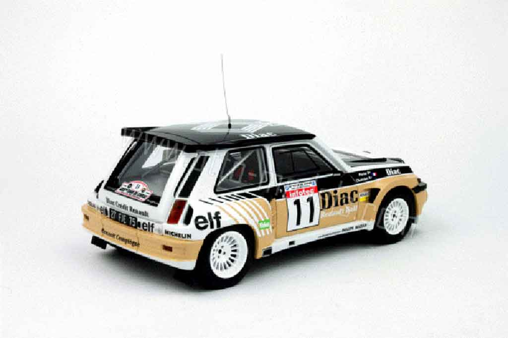 renault 5 turbo miniature maxi diac ottomobile 1 18 voiture. Black Bedroom Furniture Sets. Home Design Ideas