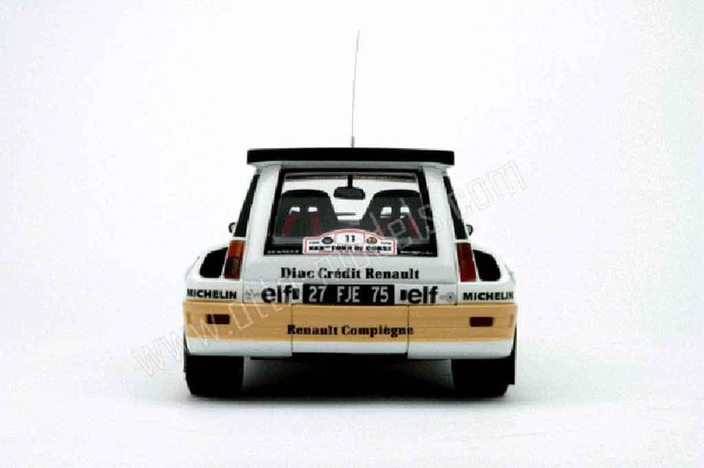 Renault 5 Turbo maxi diac Ottomobile. Renault 5 Turbo maxi diac miniature mod�le r�duit 1/18