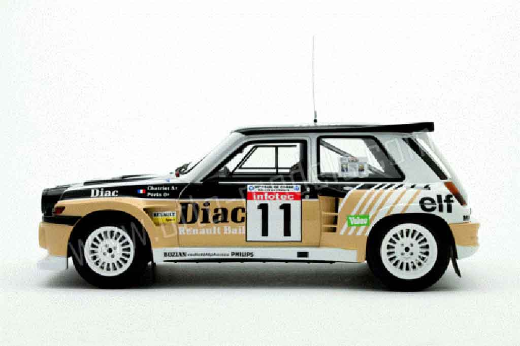 Auto miniature Renault 5 Turbo maxi diac Ottomobile. Renault 5 Turbo maxi diac miniature 1/18