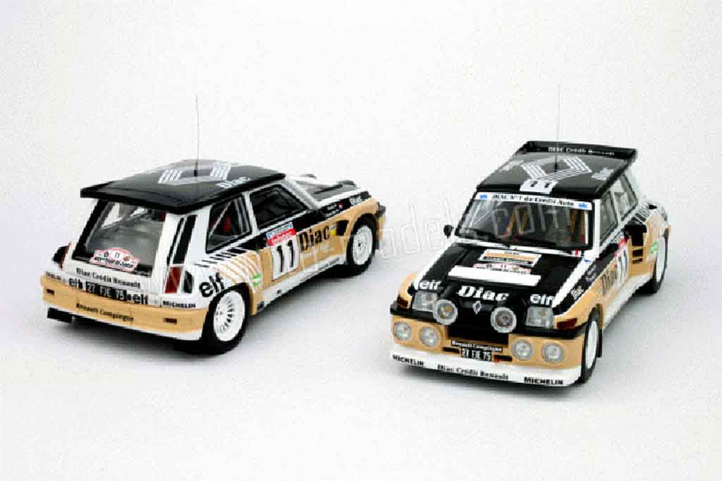 Voiture de collection Renault 5 Turbo maxi diac Ottomobile. Renault 5 Turbo maxi diac miniature 1/18