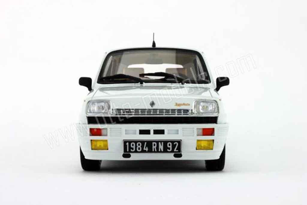Renault 5 Turbo Miniature Laureate Blanche 1984 Ottomobile