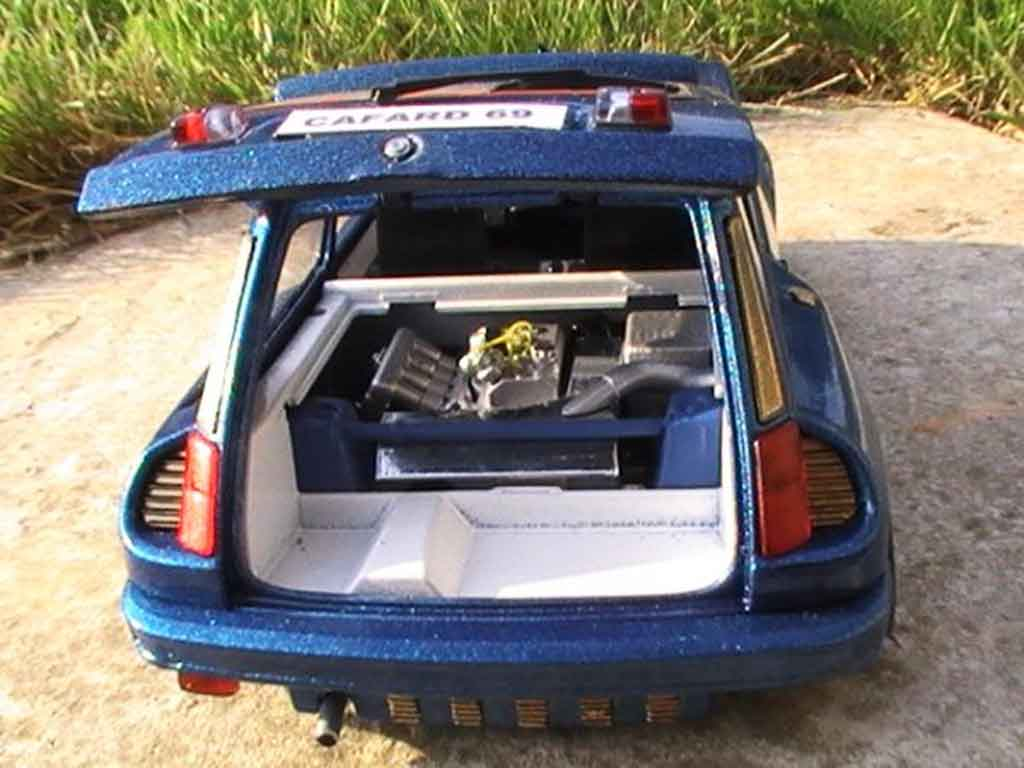 Renault 5 Turbo version williams tuning Universal Hobbies. Renault 5 Turbo version williams miniature auto miniature 1/18
