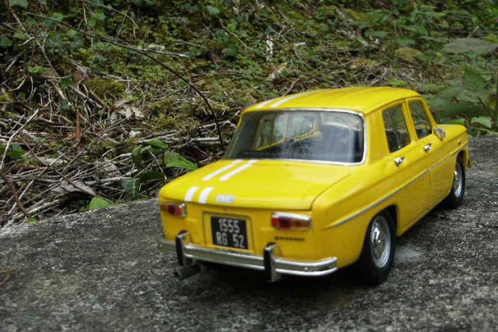 Renault 8 Gordini 1/18 Solido rallye monte-carlo 1969