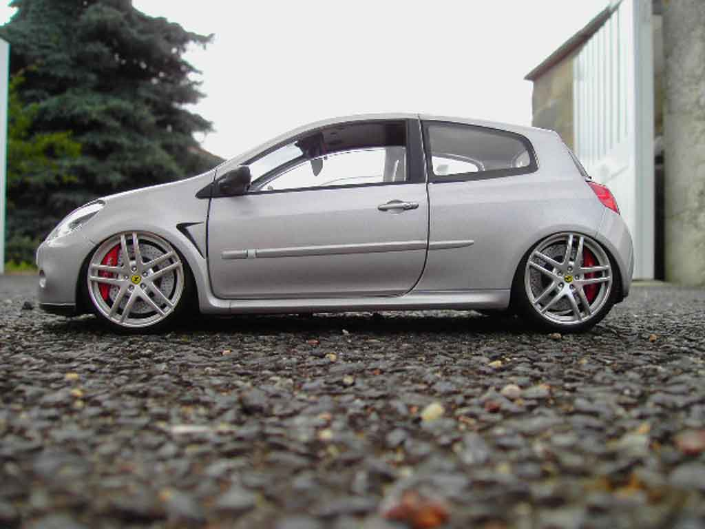 renault clio 3 rs gray wheels ferrari f430 solido diecast model car 1 18 buy sell diecast car. Black Bedroom Furniture Sets. Home Design Ideas