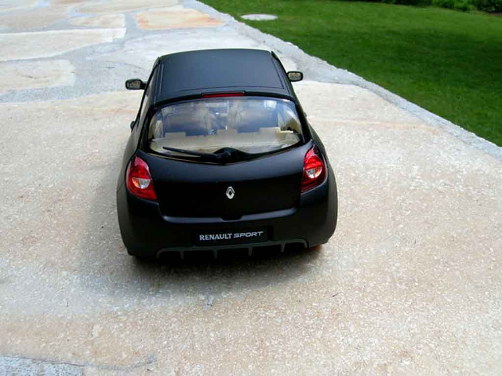 renault clio 3 rs miniature noir mat jantes c4 wrc solido. Black Bedroom Furniture Sets. Home Design Ideas