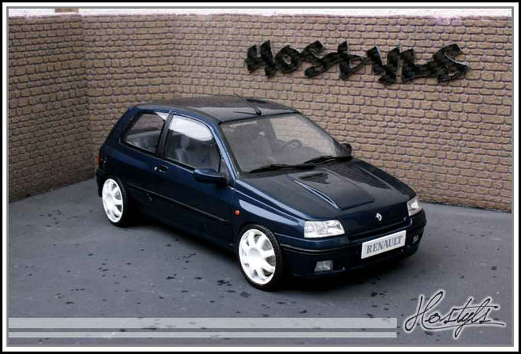 Renault Clio Williams 1/18 Ottomobile jantes groupe a weiss tuning modellautos