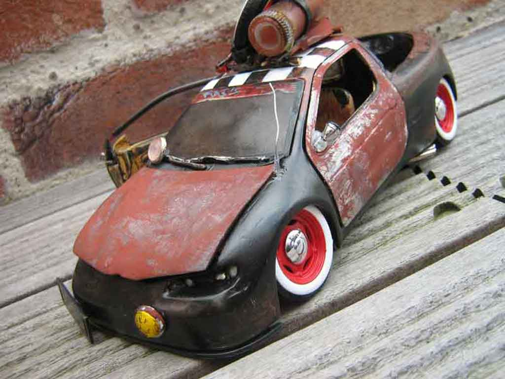 Renault Megane 1/18 Anson Maxi bastos rats tuning miniature