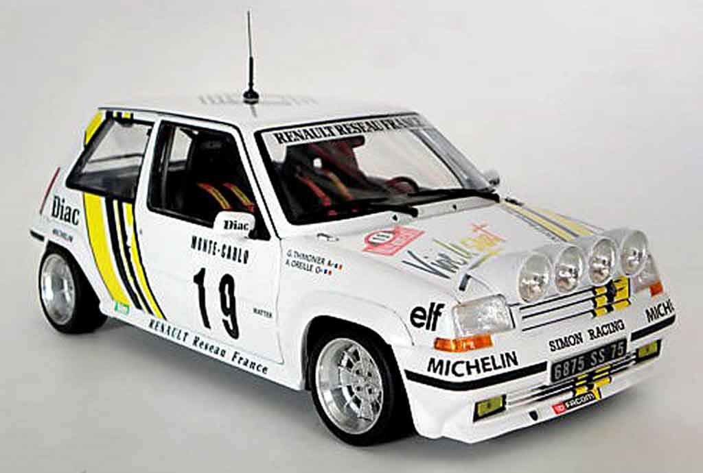 renault 5 gt turbo rally wheels 13 alu norev diecast model. Black Bedroom Furniture Sets. Home Design Ideas