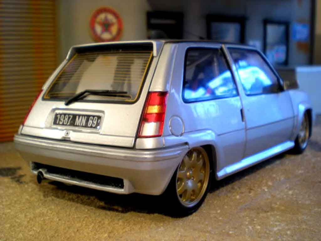 Renault 5 GT Turbo 1/18 Norev by car extreme